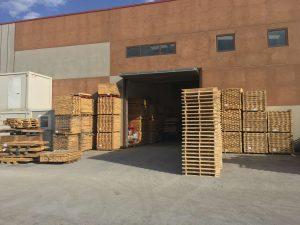 Fabricantes de palets de madera en Cantabria Maderas Montevideo